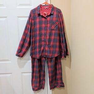 Plaid Flannel Christmas PJ Set Victoria's Secret